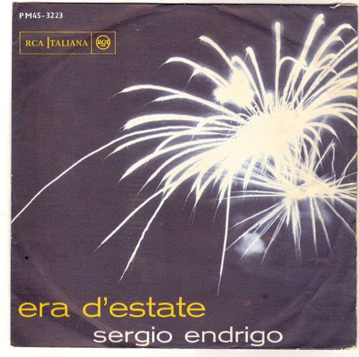 "SERGIO ENDRIGO ""Era d'estate"""