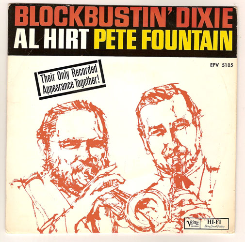 "AL HIRT & PETE FOUNTAIN SEXTET ""Blockbustin' Dixie"" EP"
