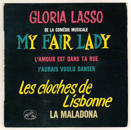 "GLORIA LASSO ""My Fair Lady"" EP"