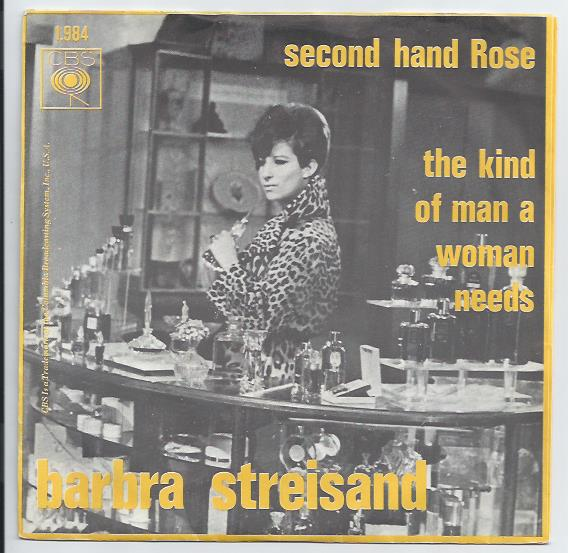 "BARBRA STREISAND ""Second hand rose"""