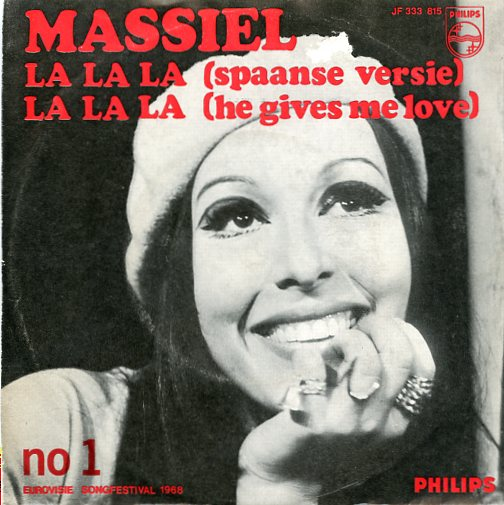 "MASSIEL ""He gives me love (la,la,la)"" 1968"