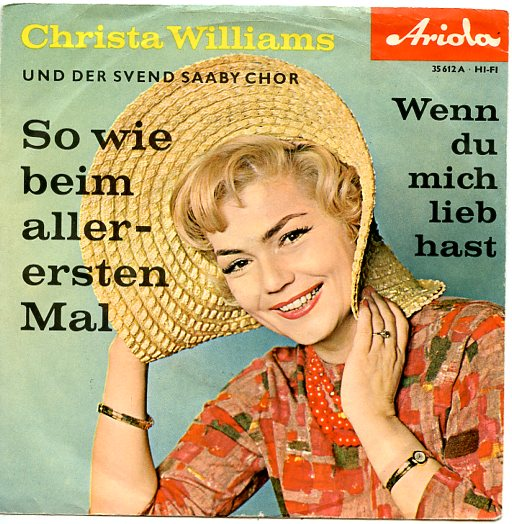 "CHRISTA WILLIAMS ""So wie beim allerersten mal"""