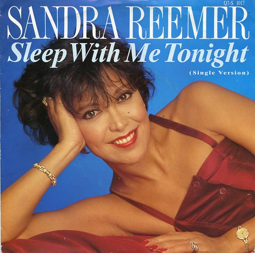 "SANDRA REEMER ""Sleep with me tonight"""