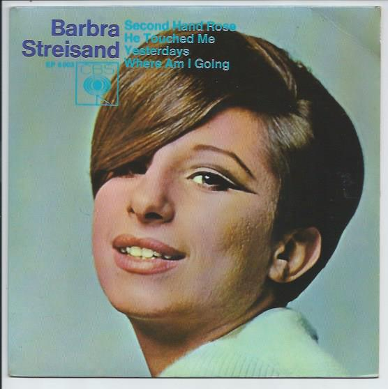 "BARBRA STREISAND ""Second hand rose"" EP"