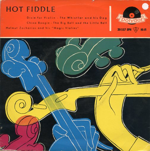 "HELMUT ZACHARIAS ""Hot Fiddle"" EP"