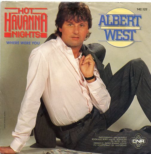 "ALBERT WEST ""Hot Havanna nights"""
