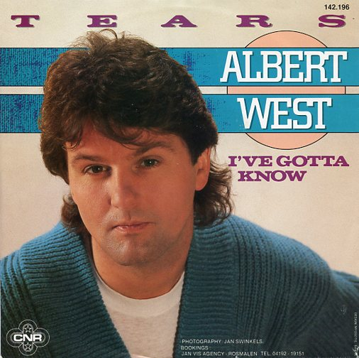 "ALBERT WEST ""Tears"""