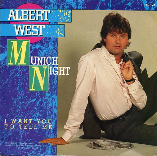 "ALBERT WEST ""Munich night"""