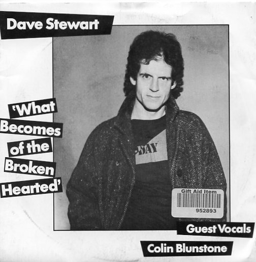 "DAVE STEWART ""What becomes of the broken hearted"""