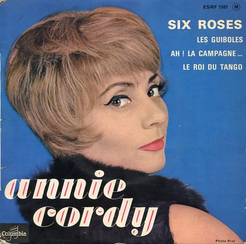 "ANNIE CORDY ""Six roses"" EP"