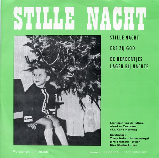 "LEERLINGEN JULIANASCHOOL ""Stille Nacht"""