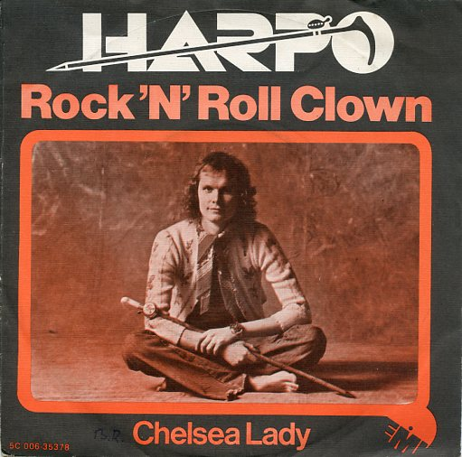 "HARPO ""Rock 'n' Roll clown"""