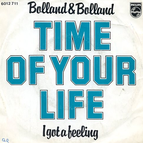 "BOLLAND & BOLLAND ""Time of your life"""