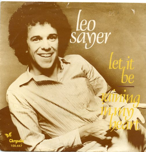 "LEO SAYER ""Let it be"""