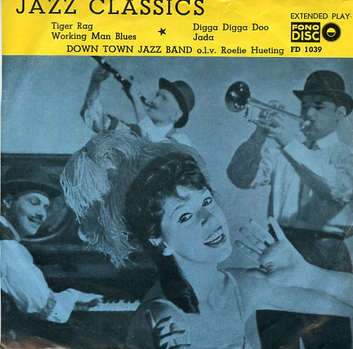 "Fono disc 1039 ""Down Town Jazz Band met Jazz Classics"""