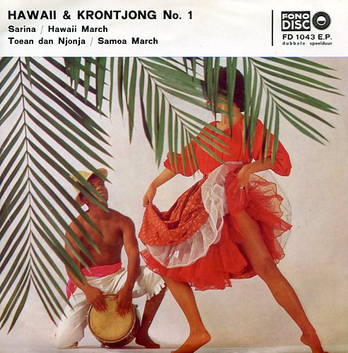 "Fono disc 1043 ""Hawaii & Krontjong no.1"""