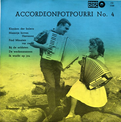 "Fono disc 1048 ""Het Scala Trio - Accordeon potpourri no. 4"""