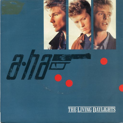 "A-HA ""The living daylights"""