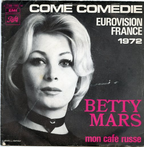 "BETTY MARS ""Come comedie"" 1972"