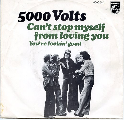 "5000 VOLTS ""Can't stop myself from loving you"""