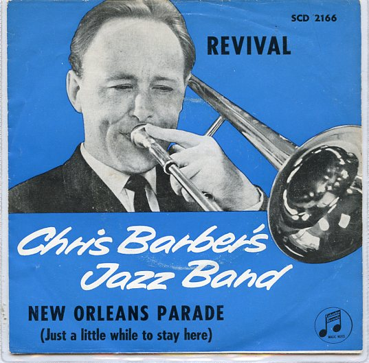 "CHRIS BARBER'S JAZZ BAND ""New Orleans Parade"""