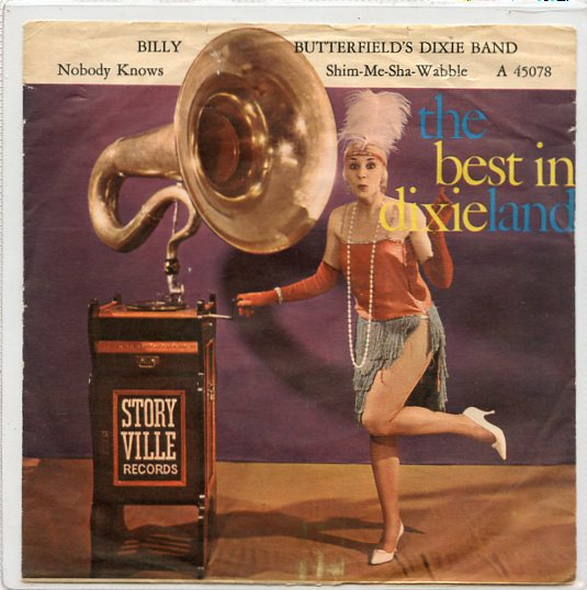 "BILLY BUTTERFIELD'S DIXIE BAND ""Nobody knows the trouble..."""
