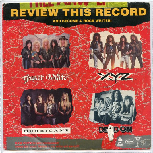 GREAT WHITE - HURRICANE - XYZ - DEAD ON