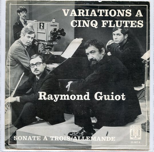 "RAYMOND GUIOT ""Variations a cinq flutes"""