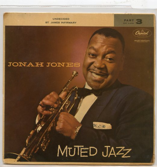 "JONAH JONES ""Muted Jazz, part 3"" EP"