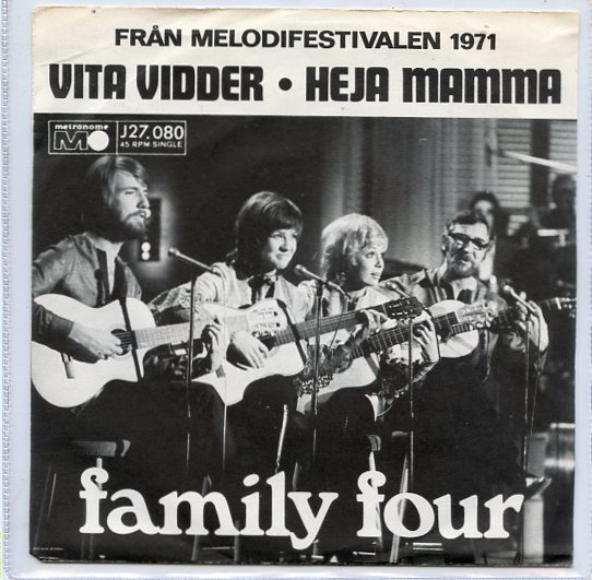 "FAMILY FOUR ""Vita vidder"""