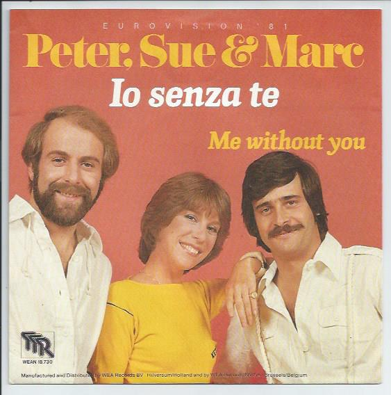 "PETER, SUE & MARC ""Io senxa te"" 1981"