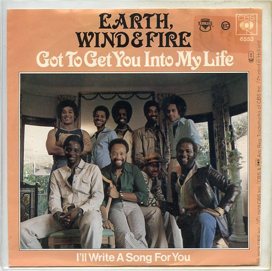 "EARTH, WIND & FIRE ""Got to get you into my life"""