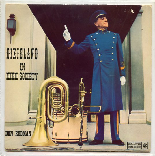 "DON REDMAN ""Dixieland in High Society"" EP"