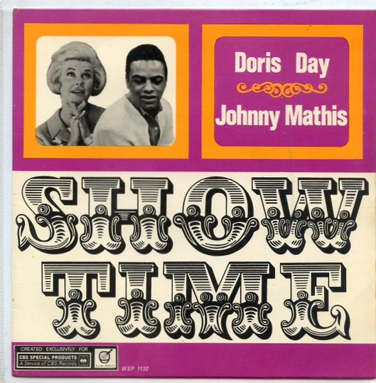 "DORIS DAY & JOHNNY MATHIS ""Showtime"" EP"