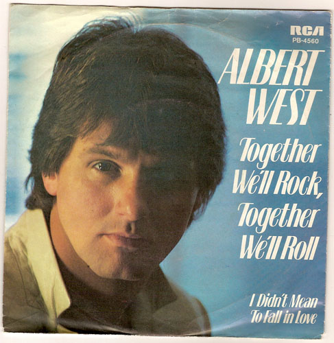 "ALBERT WEST ""Together we'll Rock, together we'll Roll"""