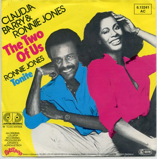 "CLAUDJA BARRY & RONNIE JONES ""The two of us"""