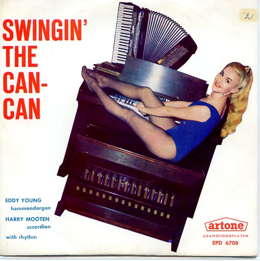 "EDDY YOUNG & HARRY MOOTEN ""Swingin' the Can-Can"" EP"