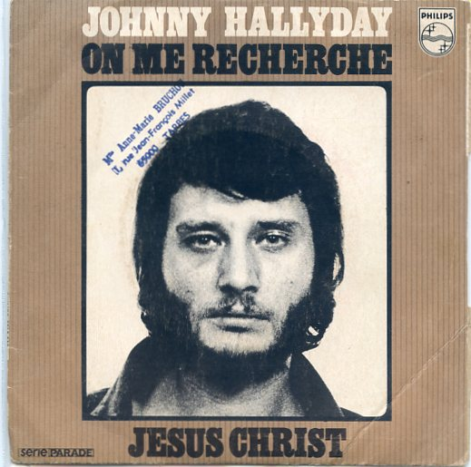 "JOHNNY HALLYDAY ""Jesus Christ"""