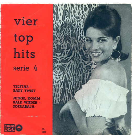 Fono disc 1037 VIER TOP HITS Serie 4