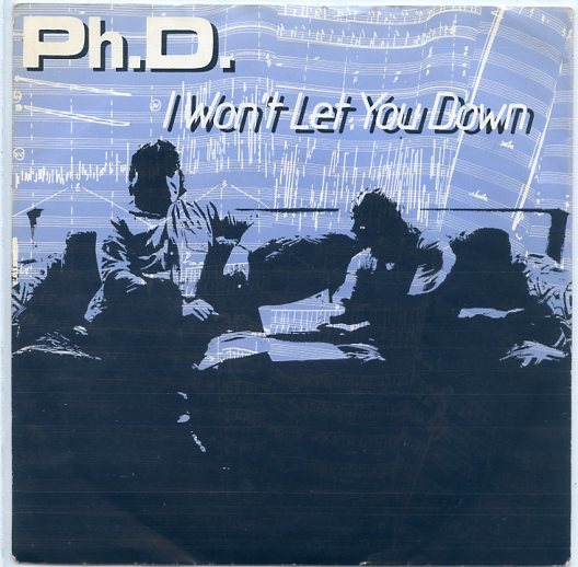 "Ph.D. ""I won't let you down"""