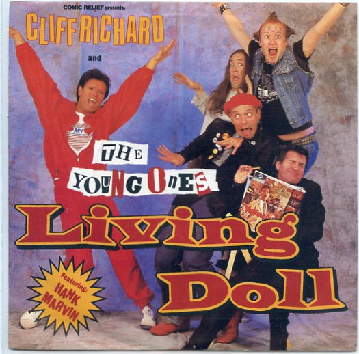 "CLIFF RICHARD & the YOUNG ONES ""Living doll"""