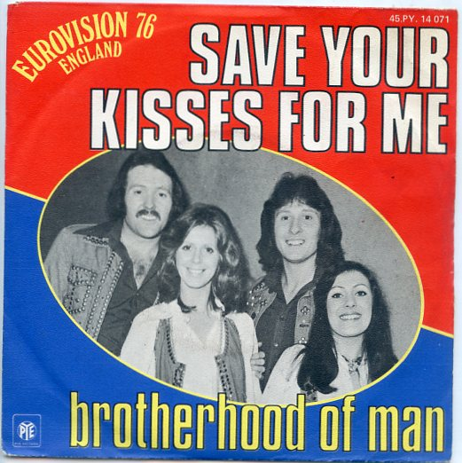 "BROTHERHOOD OF MAN ""Save your kisses for me"" 1976 (fr)"