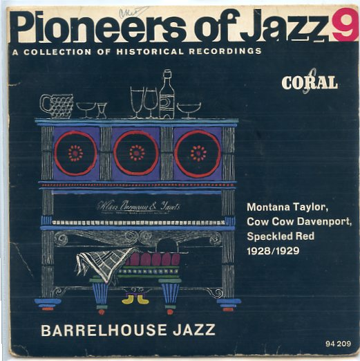 PIONEERS OF JAZZ, VOL. 9 ep