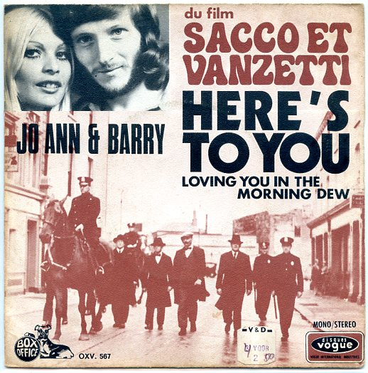 "JO ANN & BARRY ""Here's to you"""