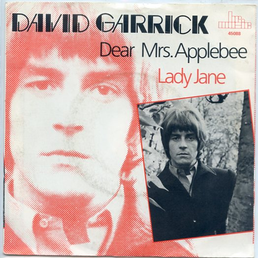 "DAVID GARRICK ""Dear Mrs. Applebee"" (brmusic)"