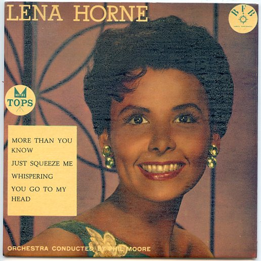 "LENA HORNE ""More than you know"" EP"