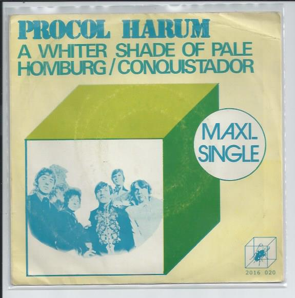 "PROCOL HARUM ""A whiter shade of pale"" (3 nummers)"