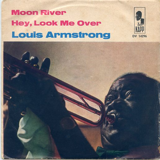 "LOUIS ARMSTRONG ""Moon River"""