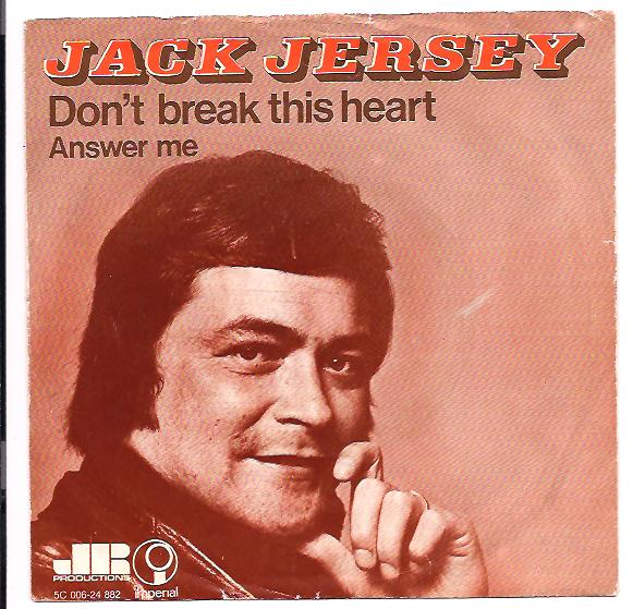 "JACK JERSEY ""Don't break this heart"""