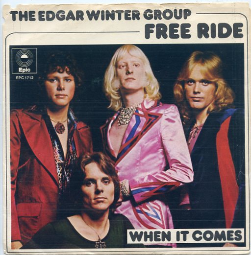 "EDGAR WINTER GROUP ""Free ride"""